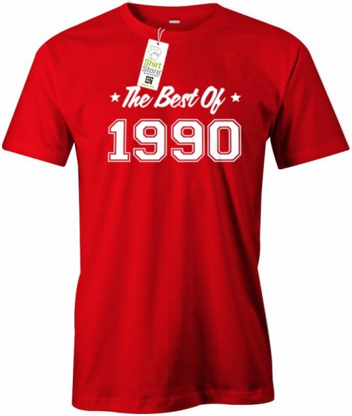 The best of 1990 - Geburtstag - Herren T-Shirt