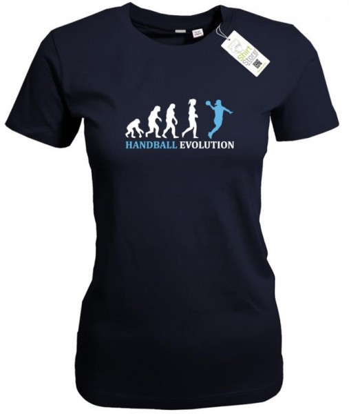 Handball Evolution - Handballerin - Damen T-Shirt