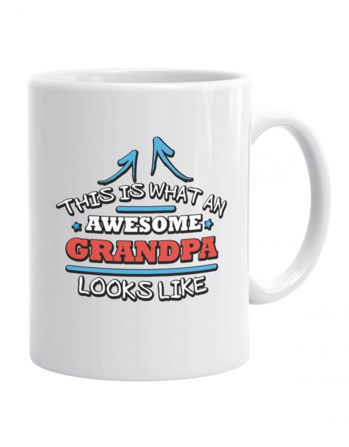 Opa Tasse - This is what an awesome grandpa looks like - Kaffeebecher für Opa