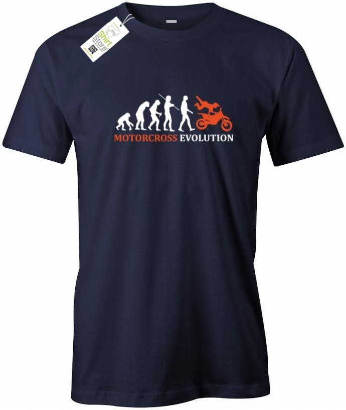 Motocross Evolution - Motorsport - Herren T-Shirt