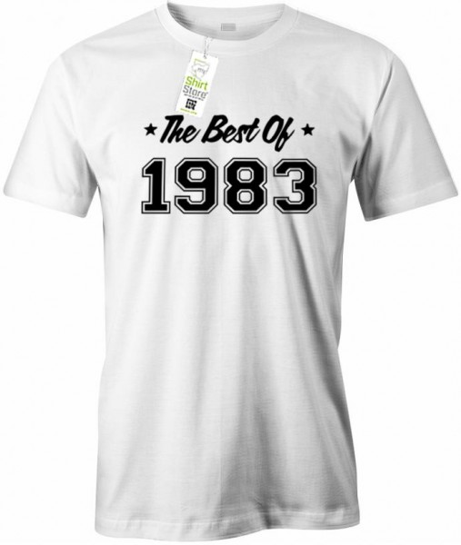The best of 1983 - Geburtstag - Herren T-Shirt