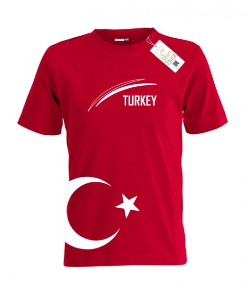 Turkey - EM WM - Türkei Fan - Kinder T-Shirt