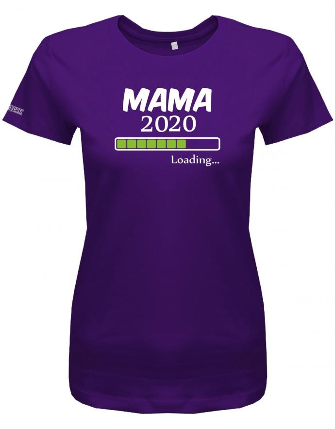 Mama loading 2020 - Geburt - Damen T-Shirt