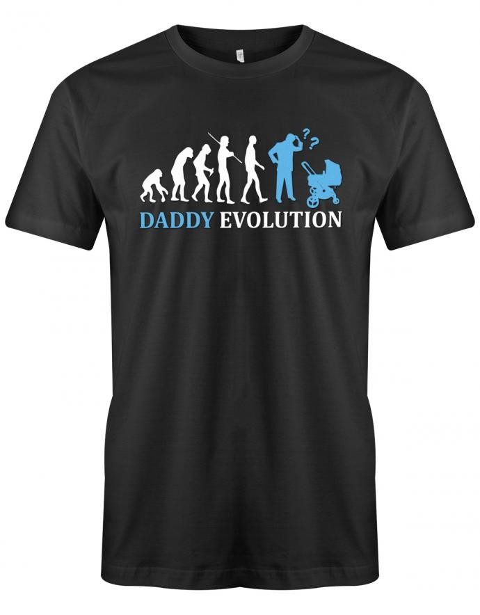 Daddy Evolution - Papa - Herren T-Shirt