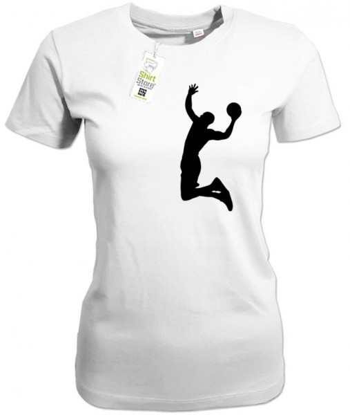 Basketball Dunk - Damen T-Shirt