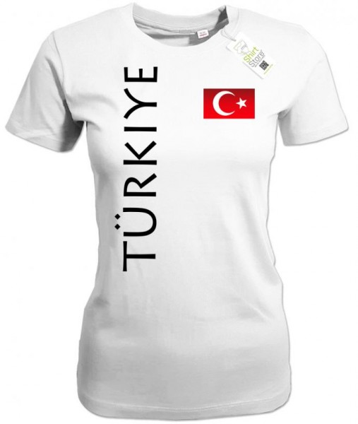 Türkiye Fahne - EM WM - Türkei - Fan - Damen T-Shirt
