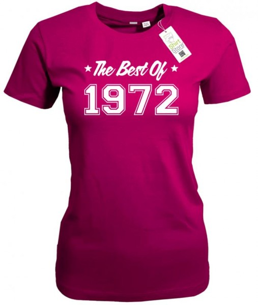 The best of 1972 - Geburtstag - Damen T-Shirt