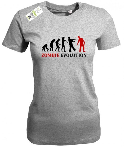 Zombie Evolution - Halloween - Damen T-Shirt