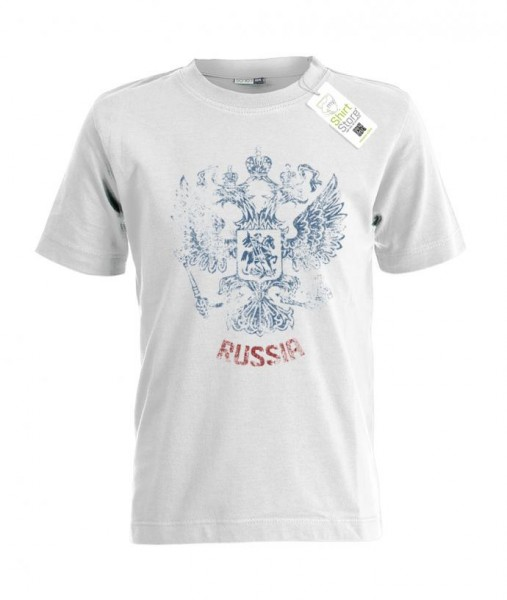 Russia Vintage Look - Russland EM WM - Fan - Kinder T-Shirt