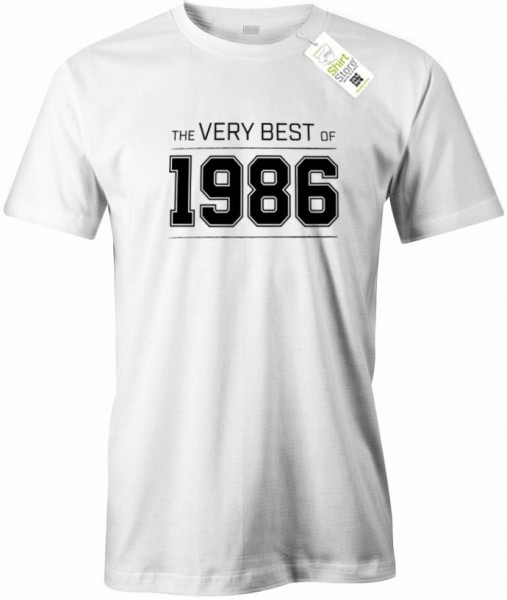 The very best of 1986 - Geburtstag - Herren T-Shirt