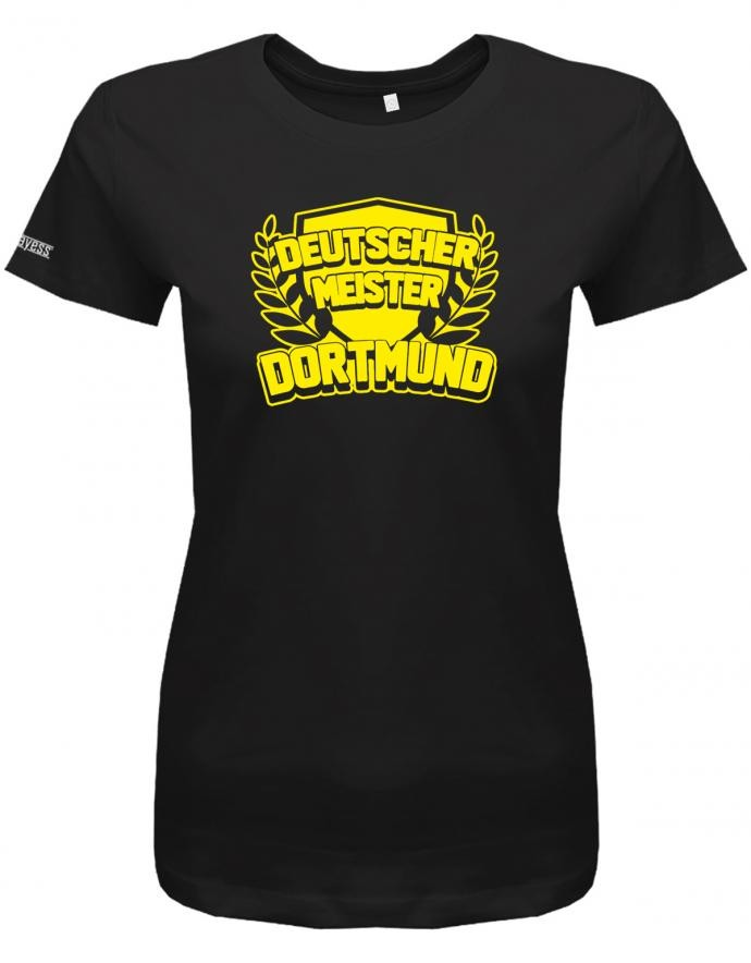 Deutscher Meister 2019 Dortmund - Kranz - Fan - Damen T-Shirt