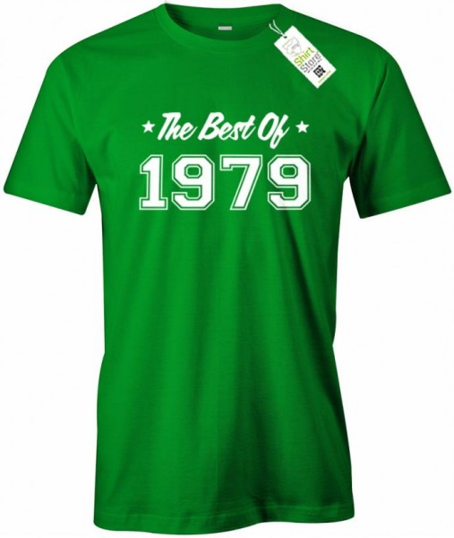 The best of 1979 - Geburtstag - Herren T-Shirt