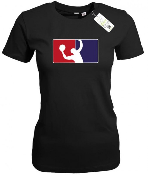 Basketball Logo - Damen T-Shirt