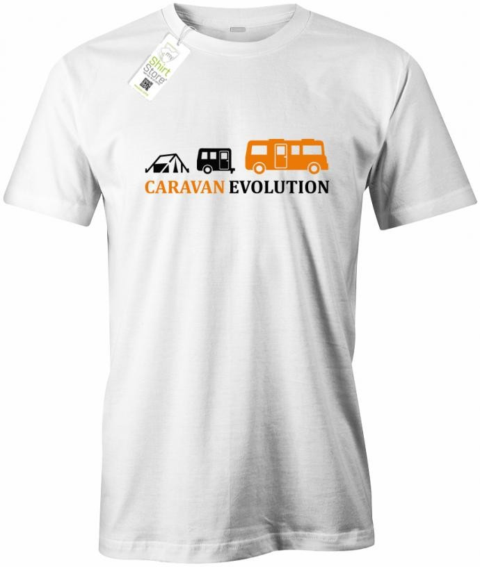 Caravan Evolution - Herren T-Shirt