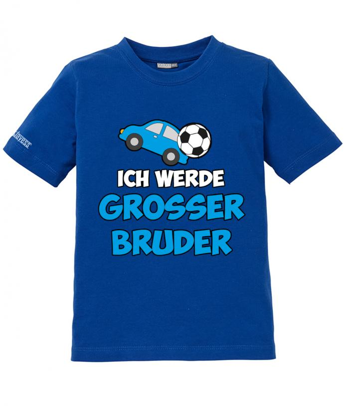 ich werde gro er bruder geschwister kinder t shirt. Black Bedroom Furniture Sets. Home Design Ideas