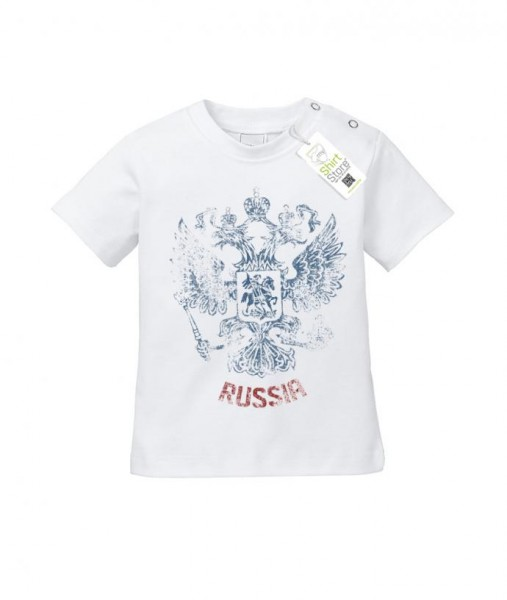 Russia Vintage Look - EM WM - Russland Fan - Baby T-Shirt