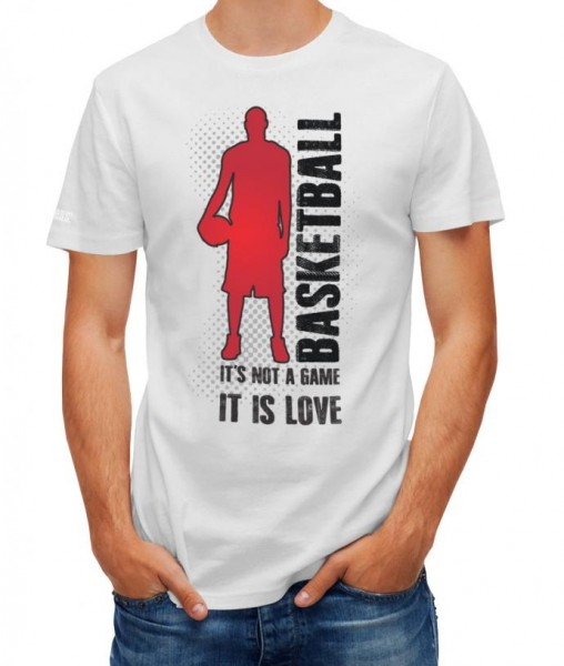 Basketball - Its not a game - Herren T-Shirt