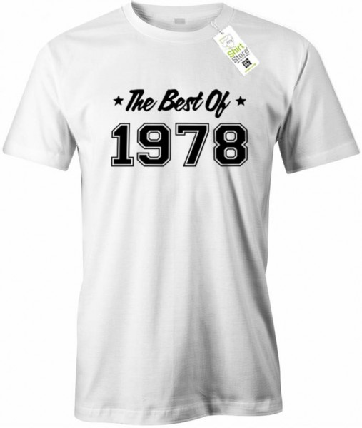 The best of 1978 - Geburtstag - Herren T-Shirt