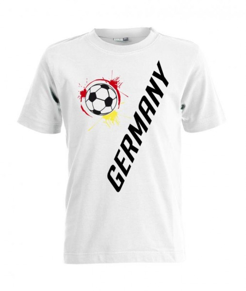 Deutschland Germany - Style - EM WM - Kinder T-Shirt