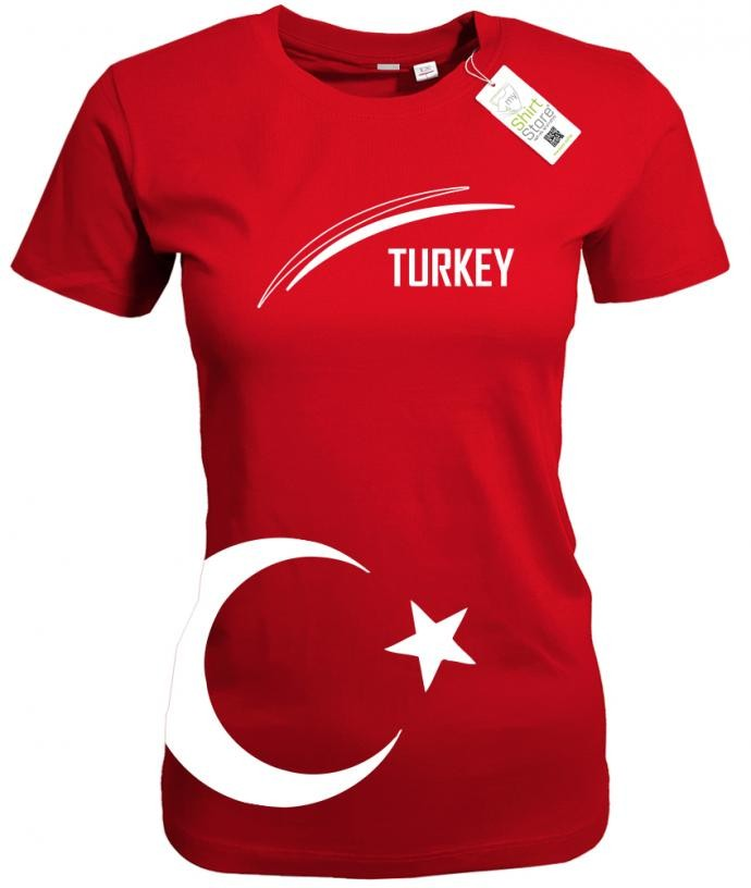 Turkey - WM EM - Türkei - Fan - Damen T-Shirt