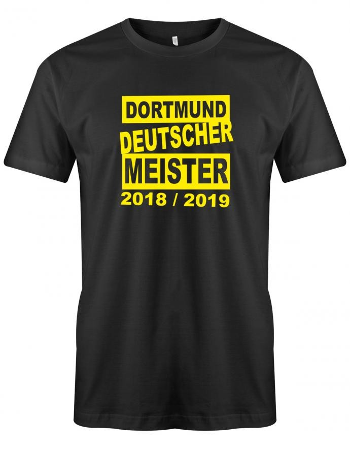 Dortmund Deutscher Meister 2018/2019 - Fan - Herren T-Shirt