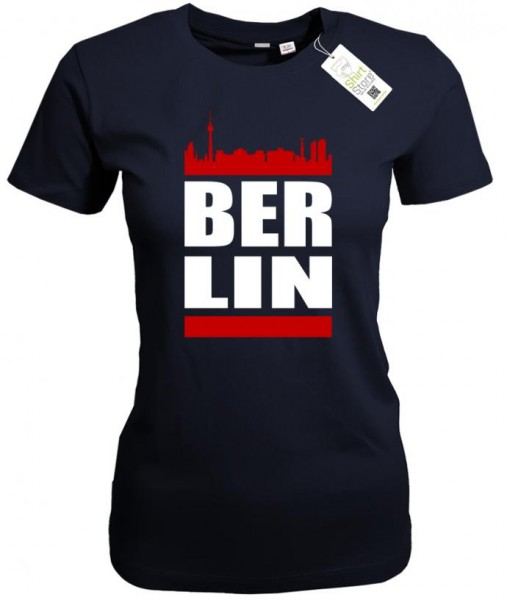 BER LIN - Skyline - Berlin - Damen T-Shirt