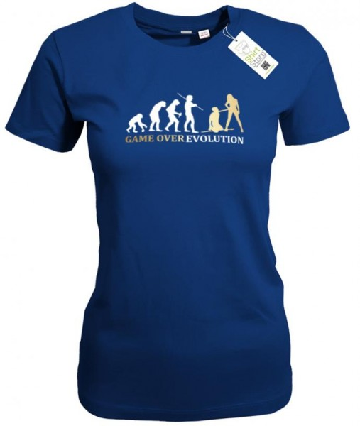 Game Over Evolution - Junggesellenabschied - Damen T-Shirt