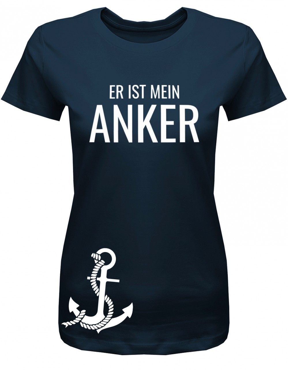 Er ist mein Anker - Partner Couple - Damen T-Shirt