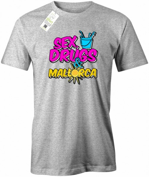 Sex Drugs & Mallorca - Malle - Herren T-Shirt