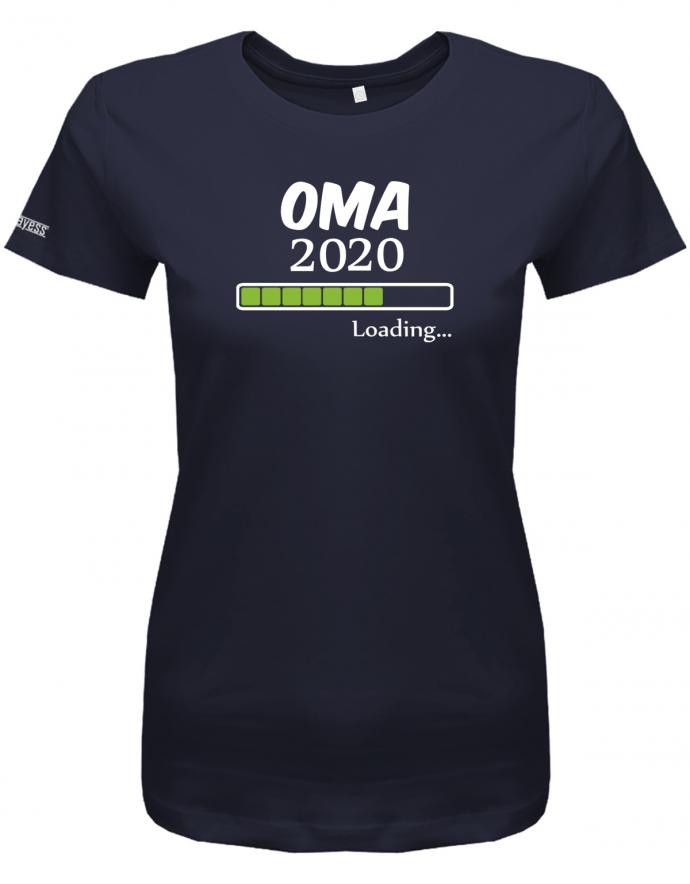 Oma loading 2020 - Geburt - Damen T-Shirt