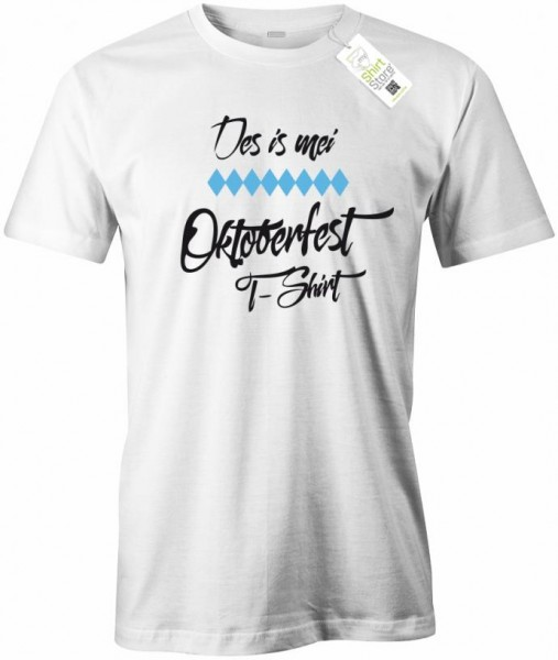 Des is mei Oktoberfest T-Shirt - Wiesn - Herren T-Shirt