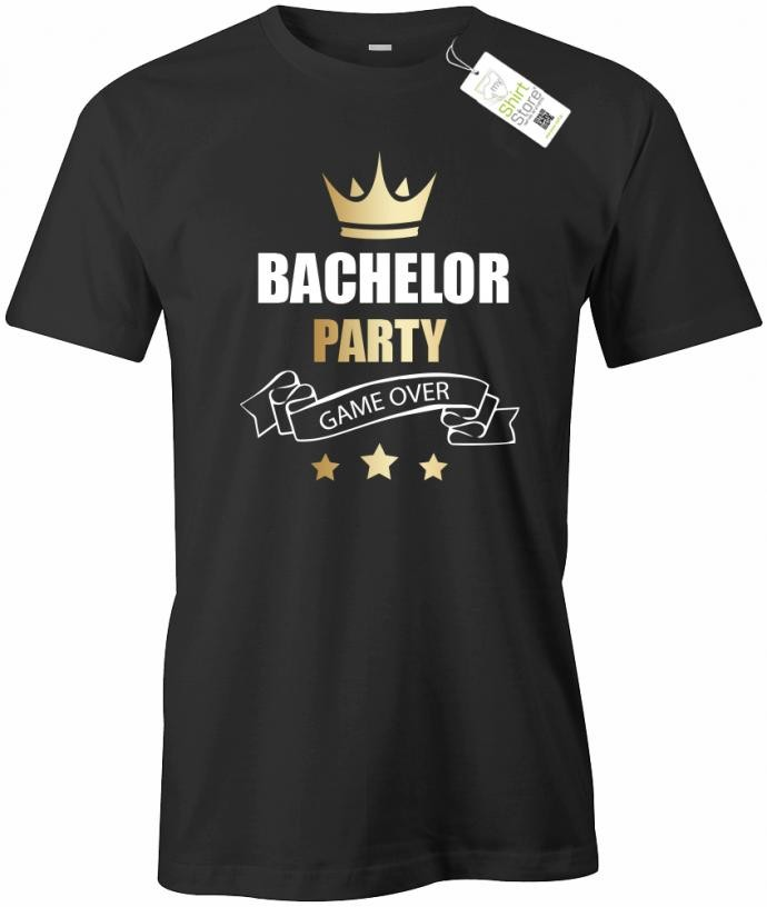Bachelor Party - Game Over - Junggesellenabschied - Herren T-Shirt