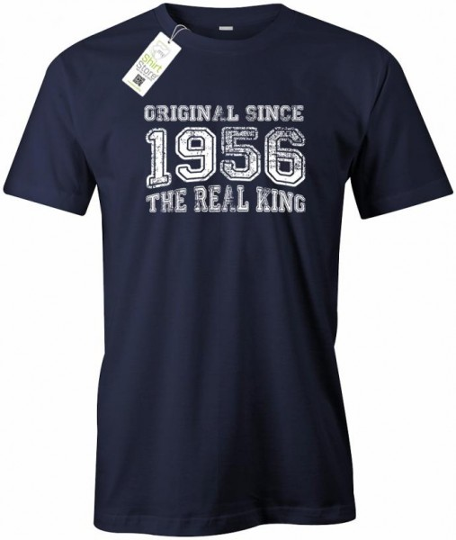 Original Since 1956 - Real King - Geburtstag - Herren T-Shirt