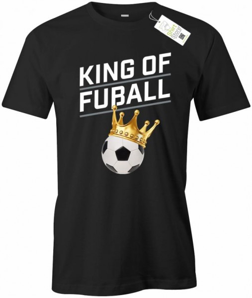 King of Fußball - Herren T-Shirt