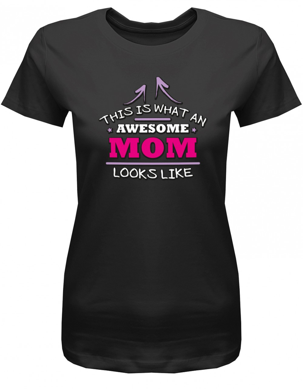 This is what an awesome Mom looks like - Damen T-Shirt