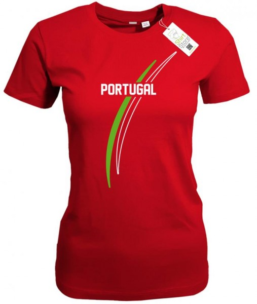 Portugal - EM WM - Fan - Damen T-Shirt