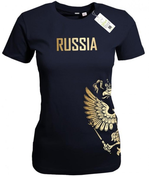 Russia Adler - Russland EM WM - Fan - Damen T-Shirt