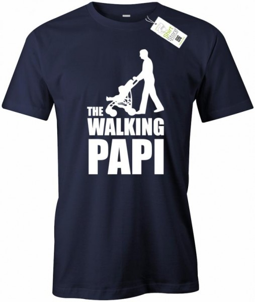 The Walking Papi - Papa - Herren T-Shirt