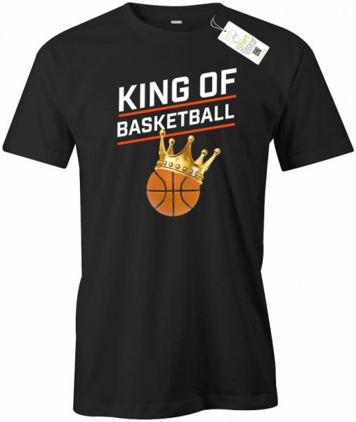 King of Basketball - Herren T-Shirt