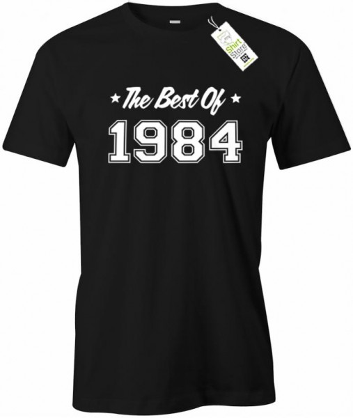 The best of 1984 - Geburtstag - Herren T-Shirt