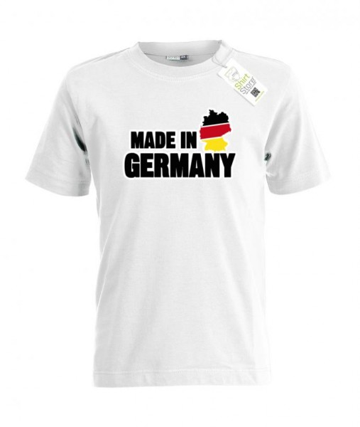 Made in Germany - WM EM - Deutschland Fan - Kinder T-Shirt