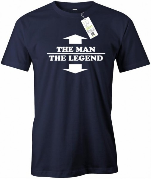 The man the legend - Fun - Herren T-Shirt