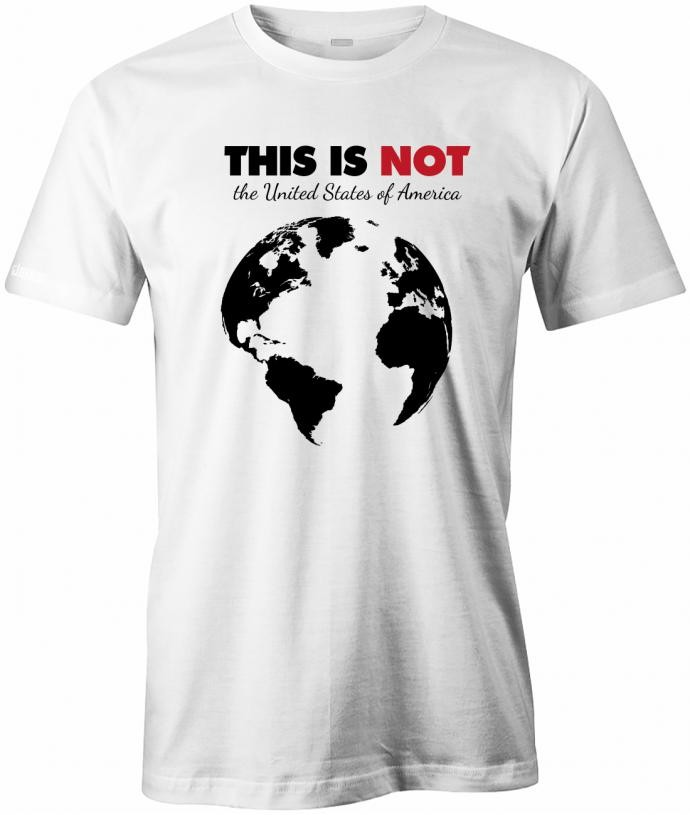 This is not the United States of America - Herren T-Shirt