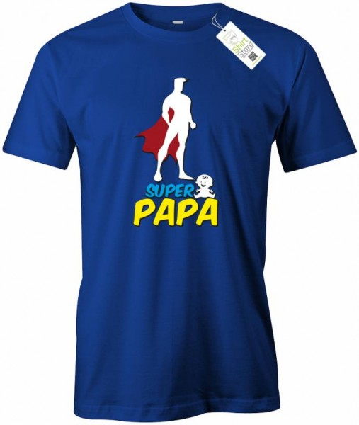 Super Papa - Dad - Herren T-Shirt