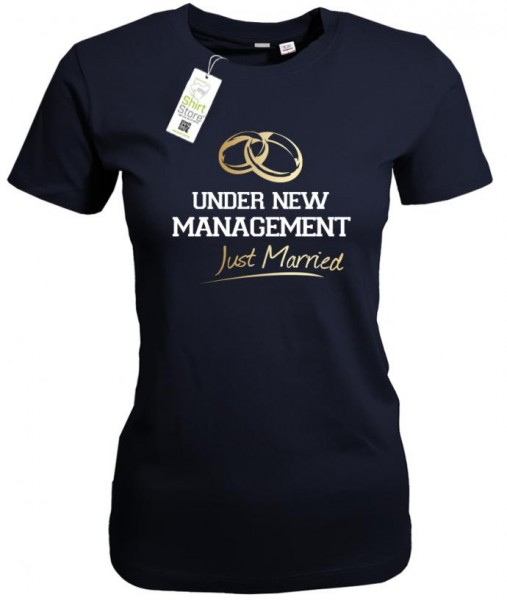 Under new Management - Junggesellinnenabschied - Damen T-Shirt