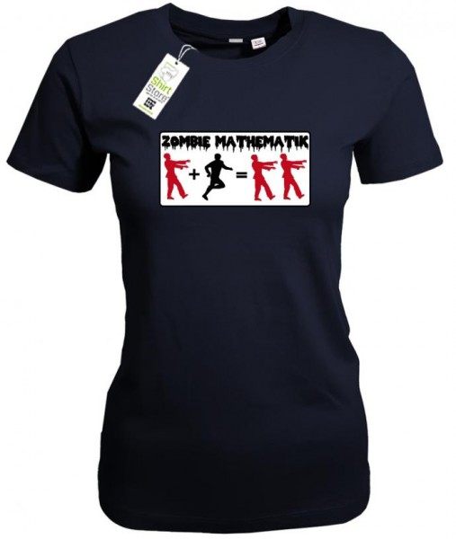 Zombie Mathematik - Halloween - Damen T-Shirt