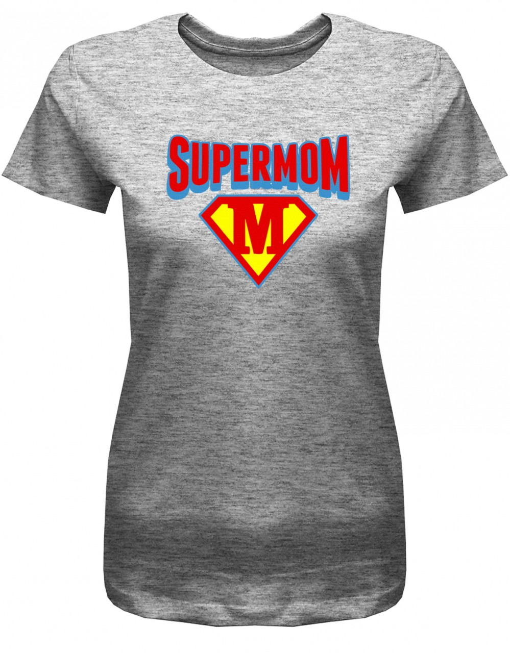 Super Mom - Mama - Mutter - Damen T-Shirt