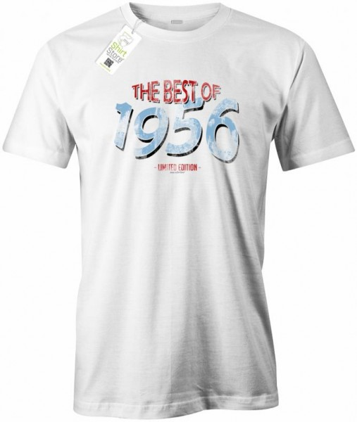 The best of 1956 - Vintage - Geburtstag - Herren T-Shirt