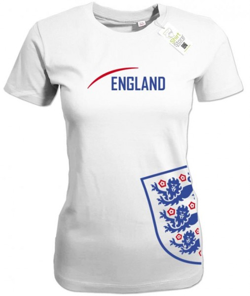 England Style - WM EM - Fan - Damen T-Shirt