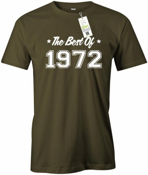 The best of 1972 - Geburtstag - Herren T-Shirt